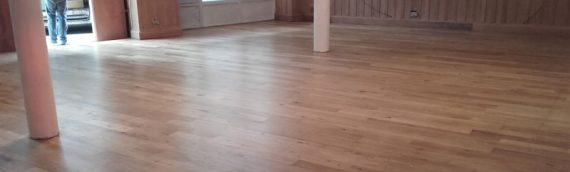 New Floor Treatment for New Commercial Venture