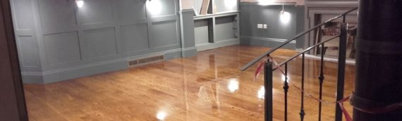 Commercial Wood Floor Sanding and Varnish