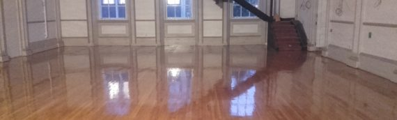 Large Commercial Wood Floor Renovation