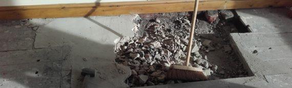 Domestic Wood Floor Renovation