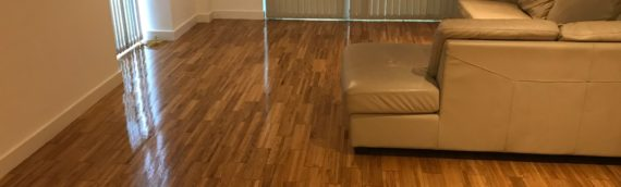 Manchester | Castlefield apartment floor sand and polish