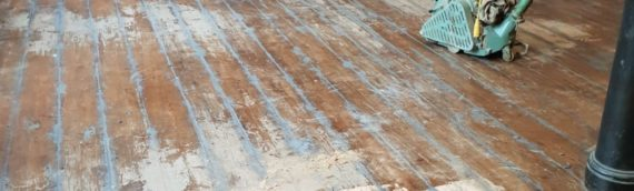 Old Mill Wood Floor Restoration for Finance Agency Manchester City Centre